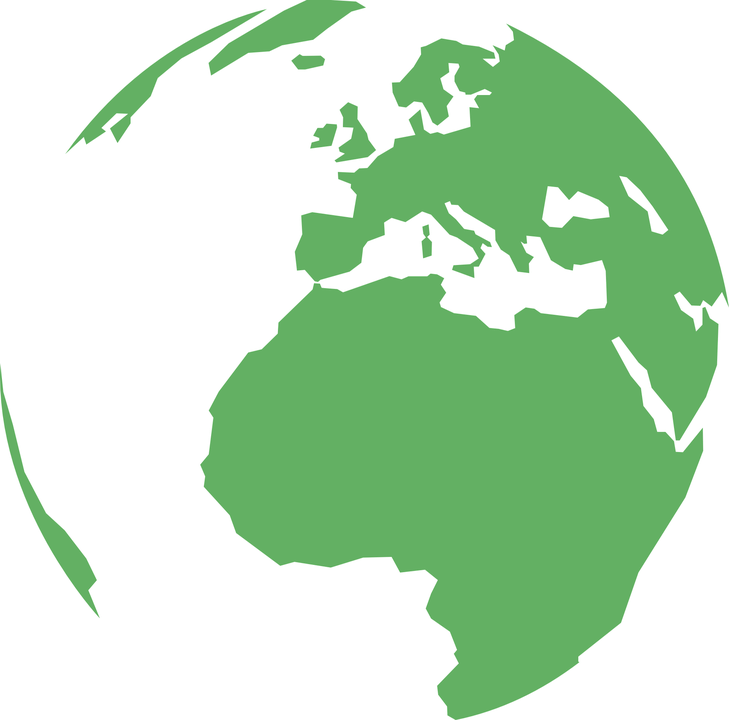 Clipart earth asia. Europe planet pencil and