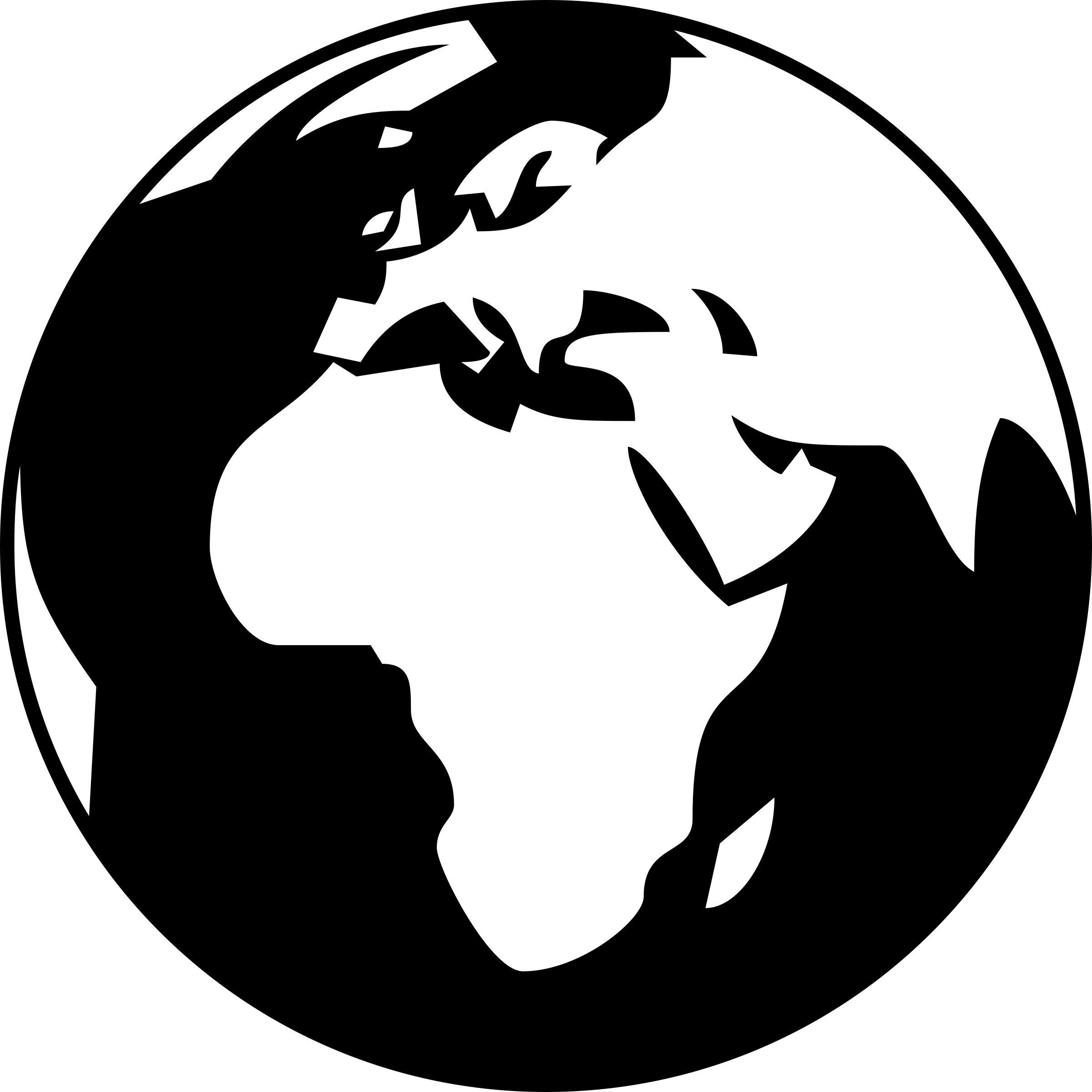Globe clipart black and white. Simple showing africa asia