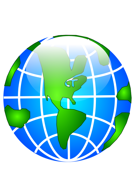 Clipart earth asia. Continents at getdrawings com