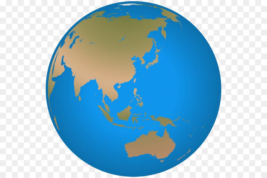 Clipart earth asia. Map globe world transparent