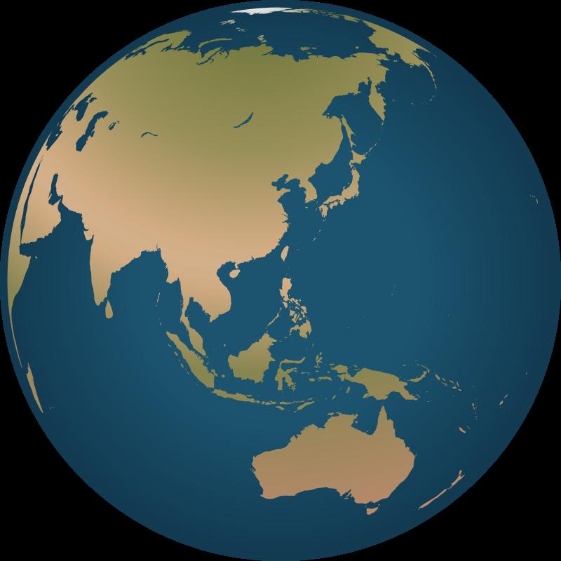 Free clip art globe. Ocean clipart pacific