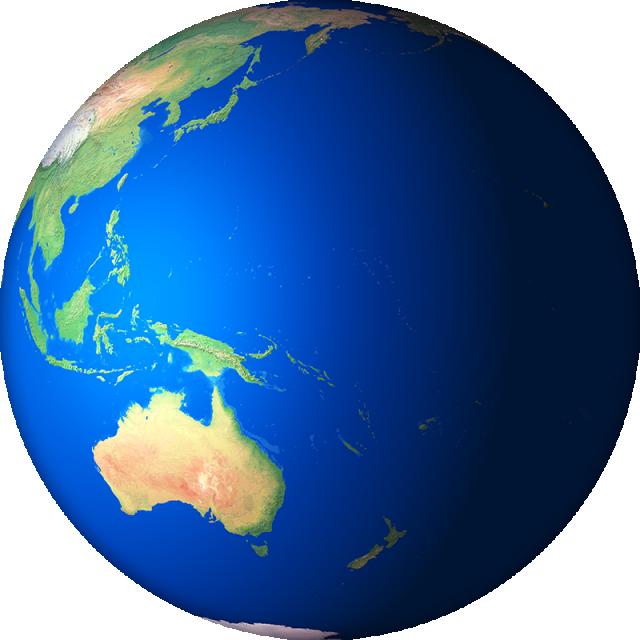 d render globe. Clipart earth atmosphere