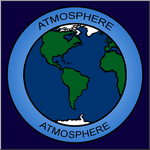 Clip art color i. Clipart earth atmosphere