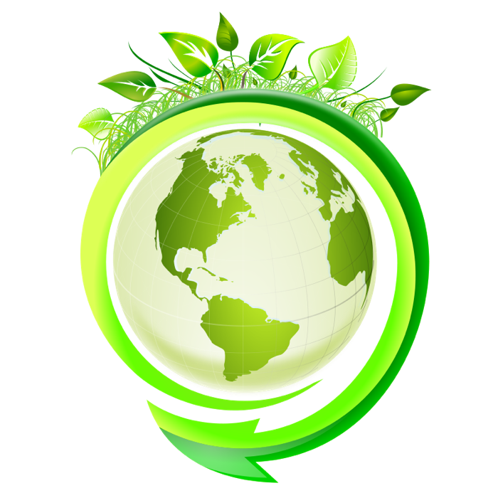Environmental eco graphics earth. Planet clipart green planet