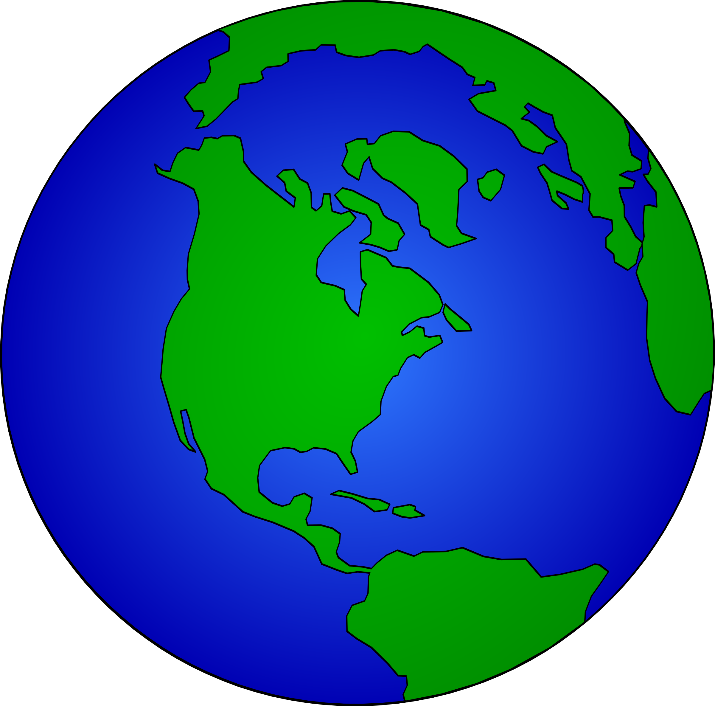 Globe clipart cartoon. Earth dan gerhrad r