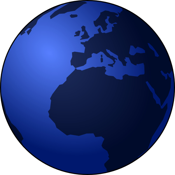 Globe clip art at. Earth vector png