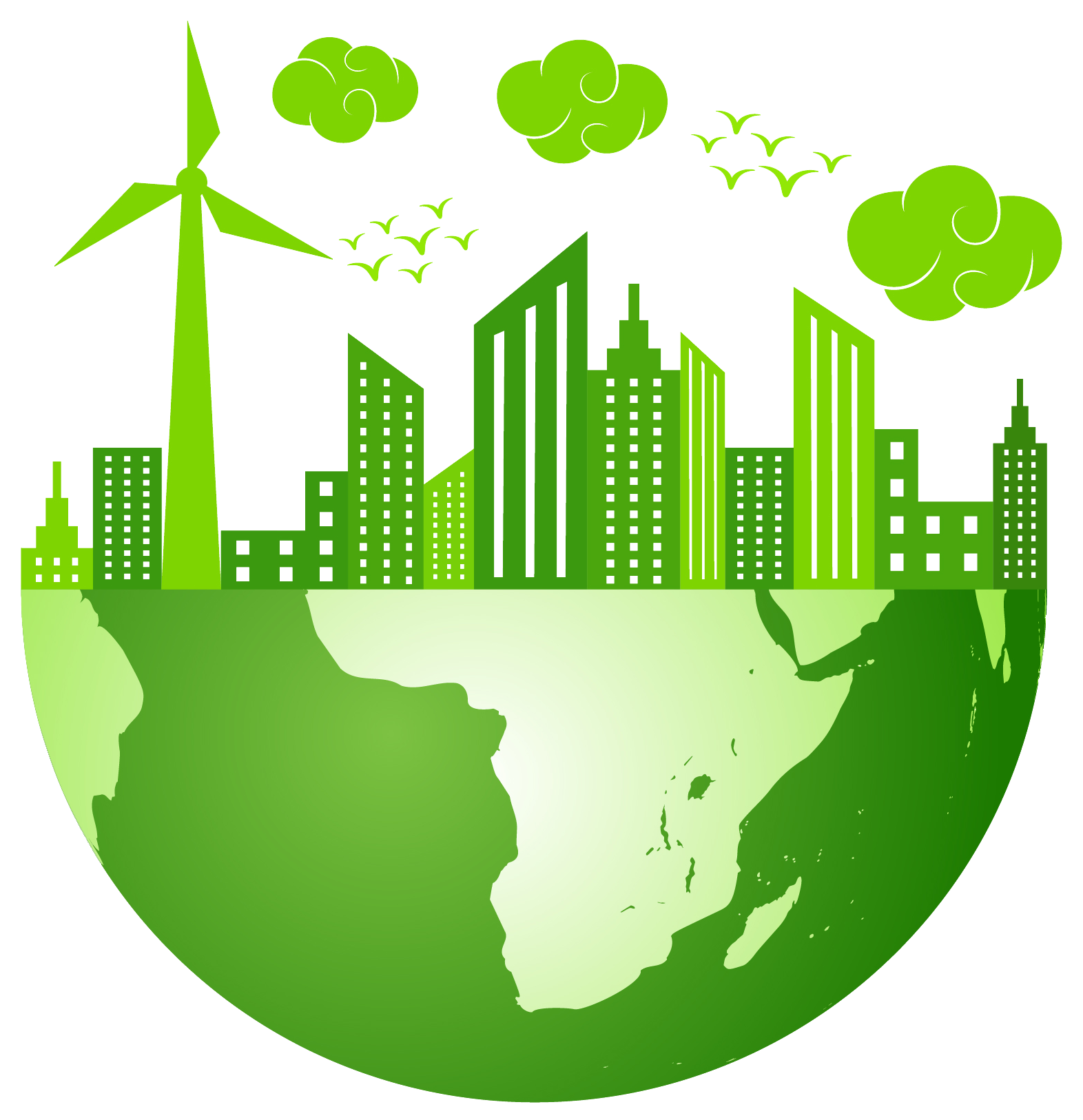 collection of climate. Environment clipart sustainable living