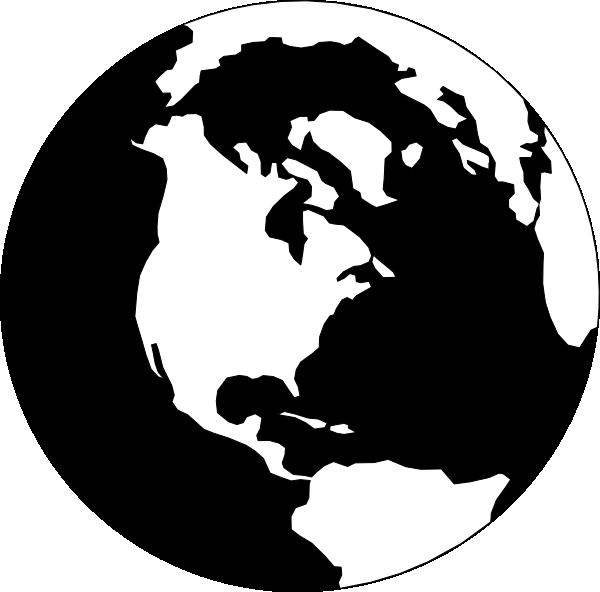 World map clip art. Globe clipart gambar