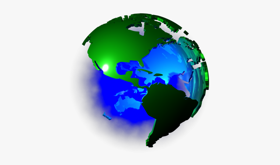 Clipart earth colourful.  d png world