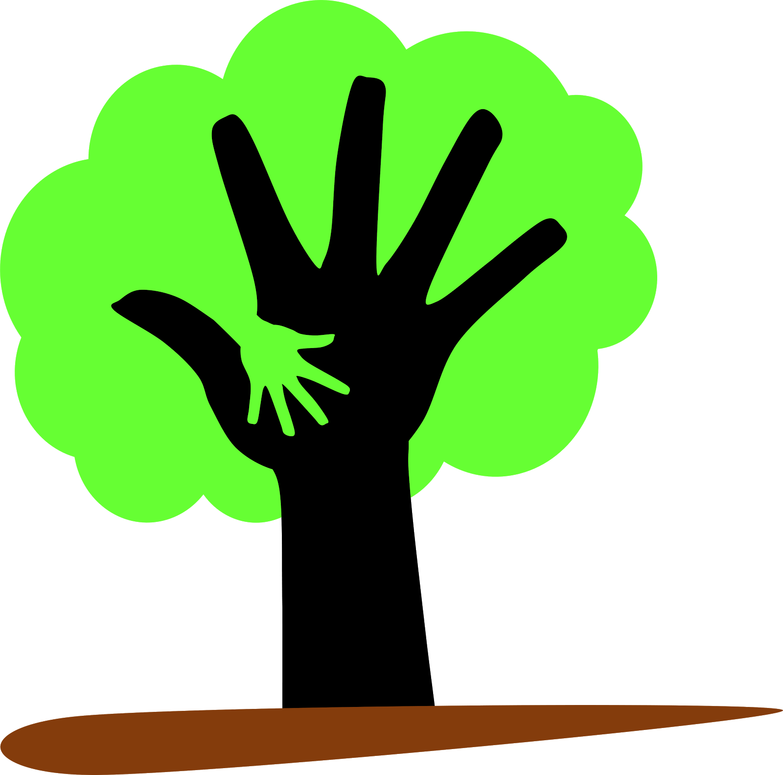 Save trees poster free. Teamwork clipart tree