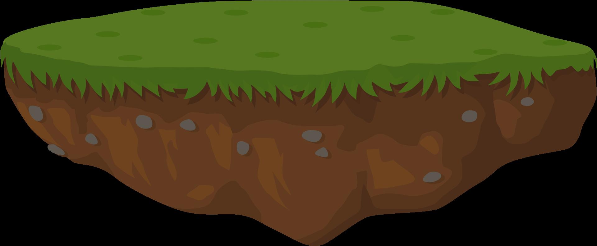 Land png transparent cartoon. Earth clipart dirt