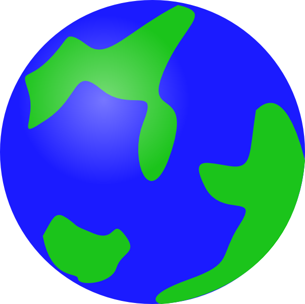 Planets clipart animation. Animated earth panda free