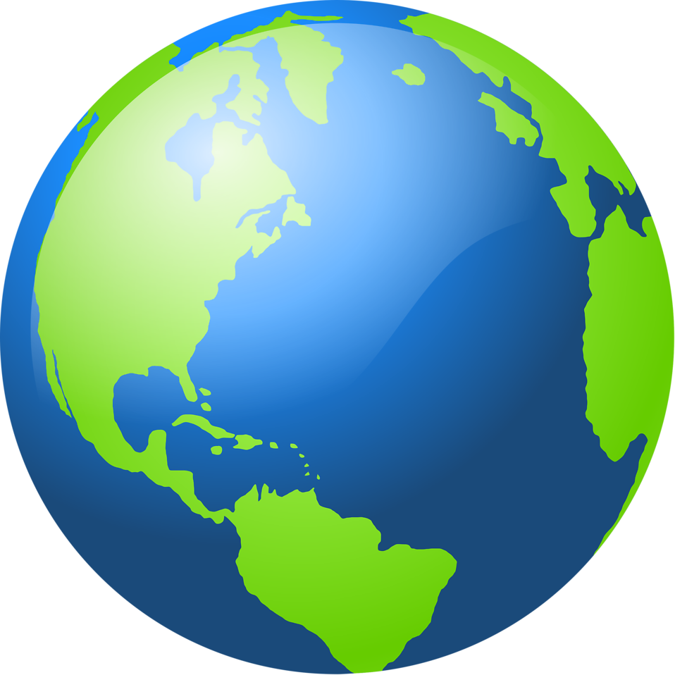 Clipart earth easy. Globe shop of library
