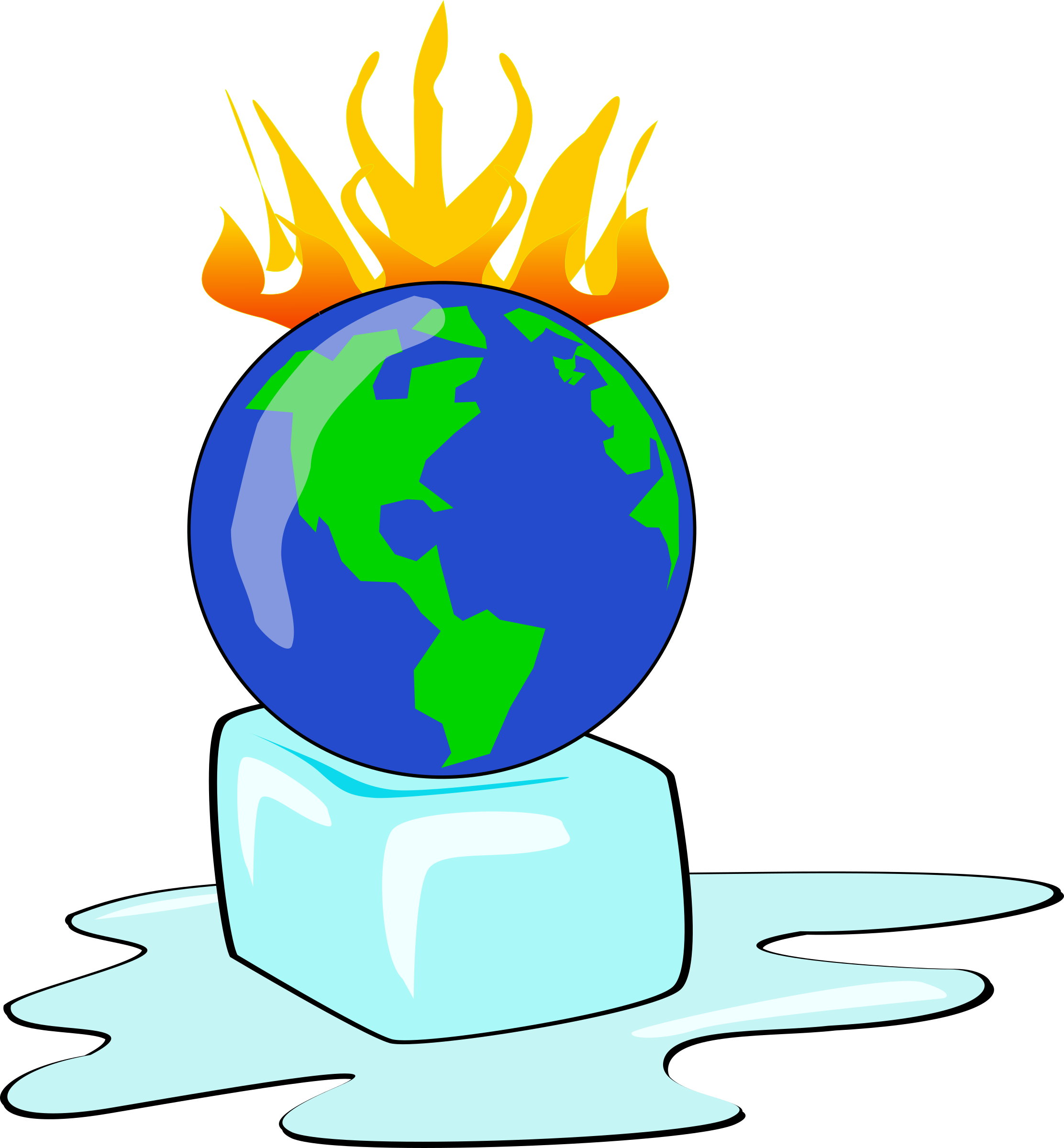 Planet big image png. Environment clipart global warming