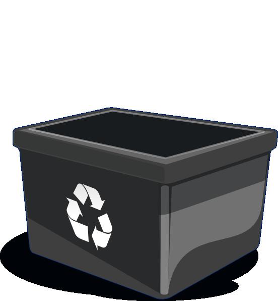 Recycle bin clip art. R clipart litter