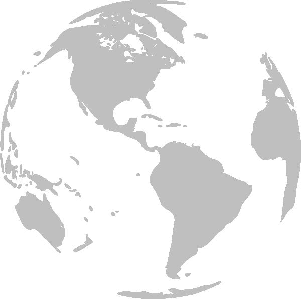 Clip art at clker. Clipart earth grey