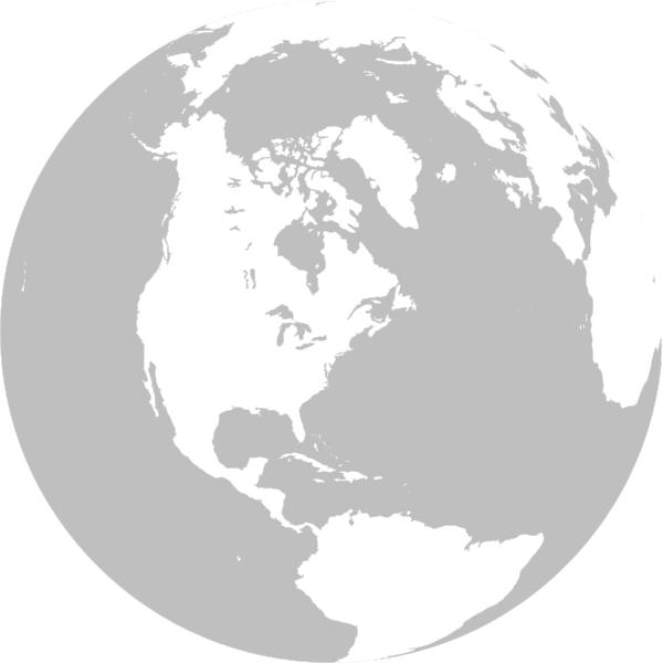 Gray globe clip art. Clipart earth grey