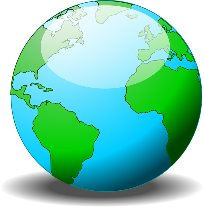 Clipart earth half. Planet pinart day digital