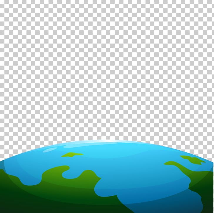 Globe water resources sky. Planet clipart earth half