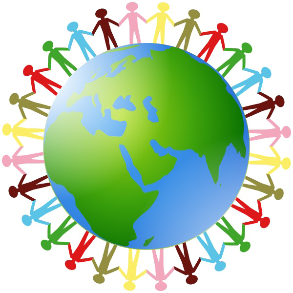 In png mart. Clipart earth hands
