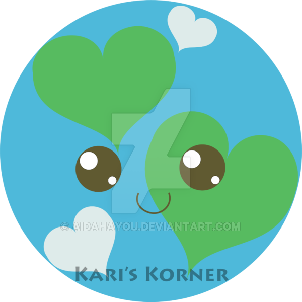 Earth kawaii. Clipart transparent free for