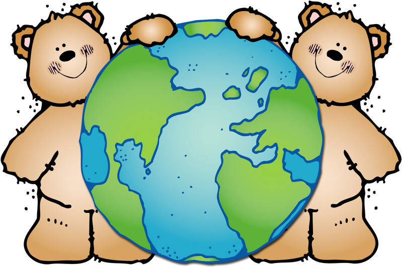 Clipart earth happy. Busy bees freebie day