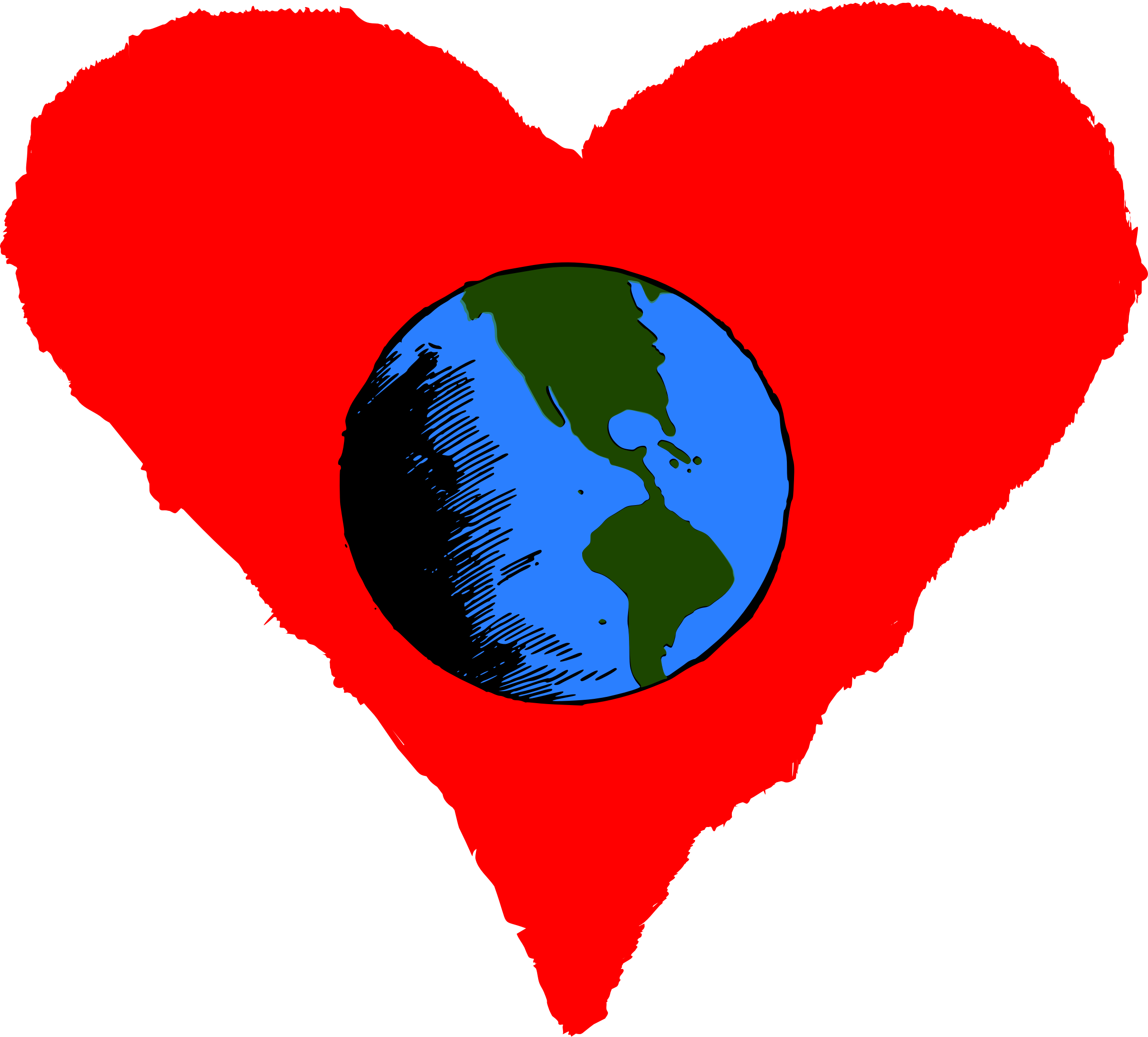 Day big image png. Clipart earth happy