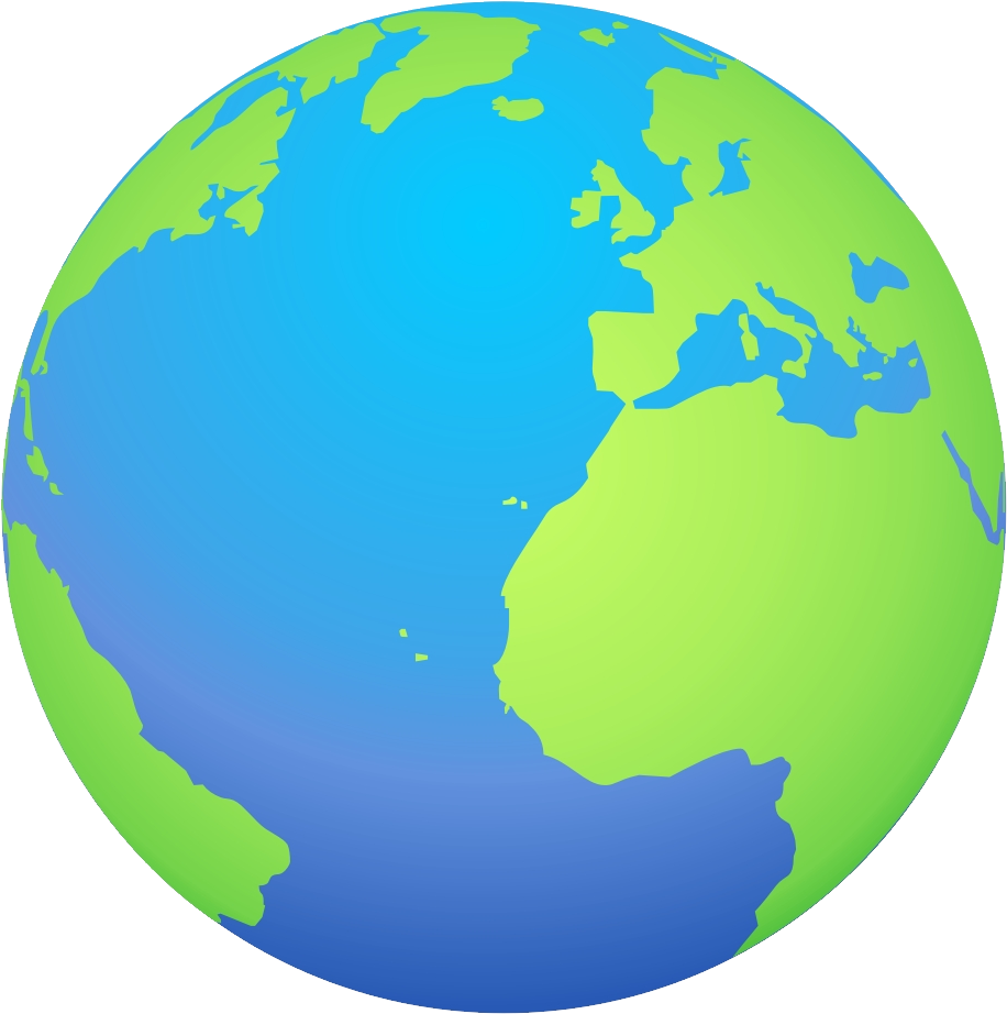 Globe png image without. Clipart earth high quality