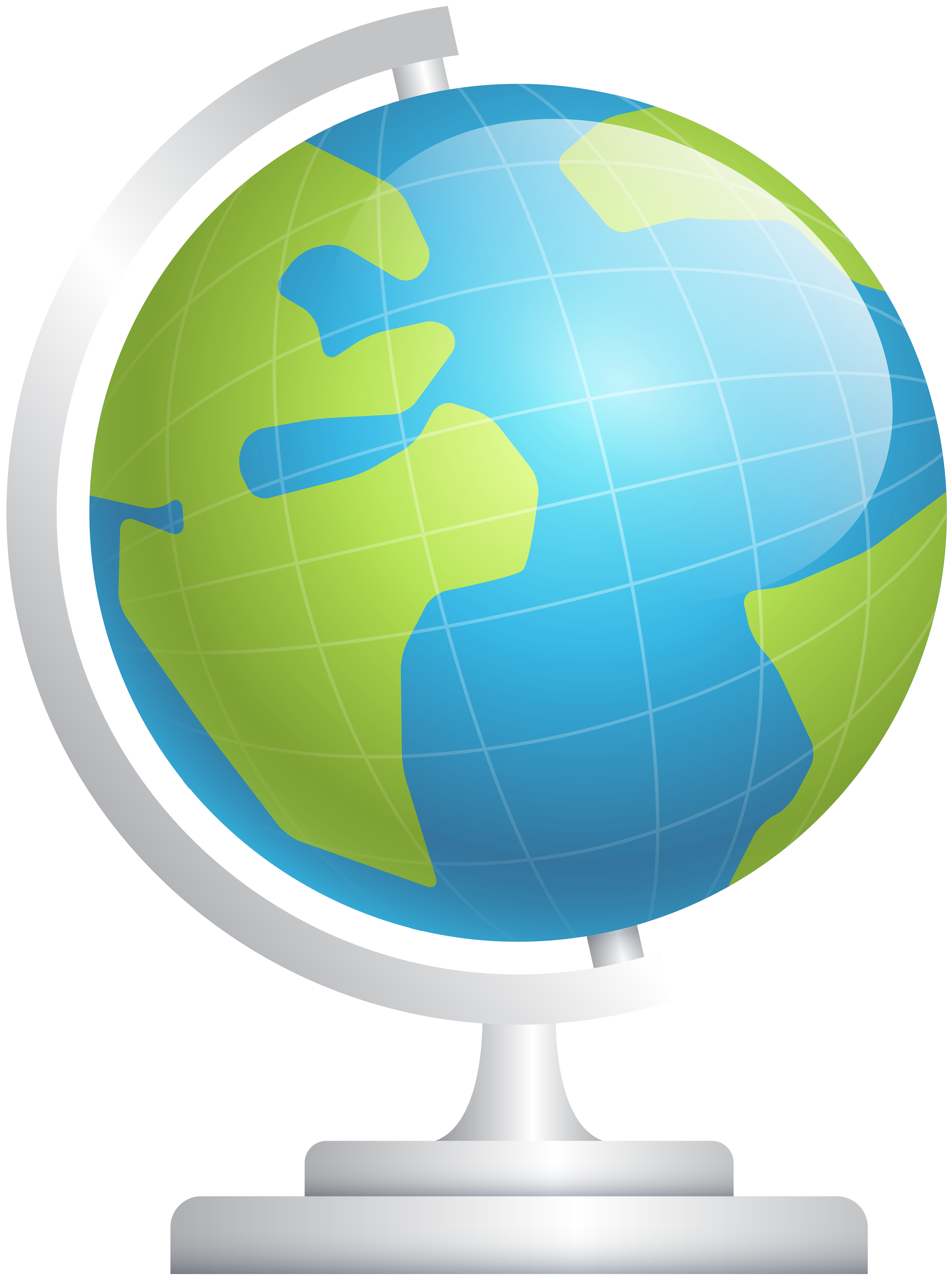 Clipart earth high resolution. Globe clip art image