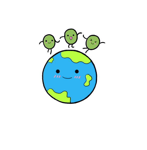 peas clipart comic