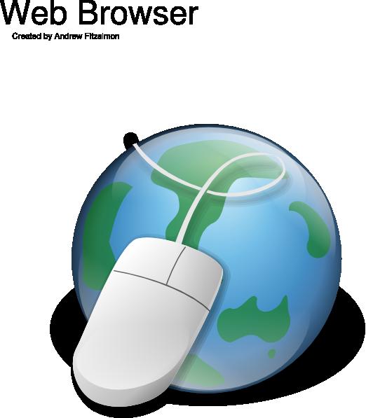Website clipart computer mouse. Internet globe clip art