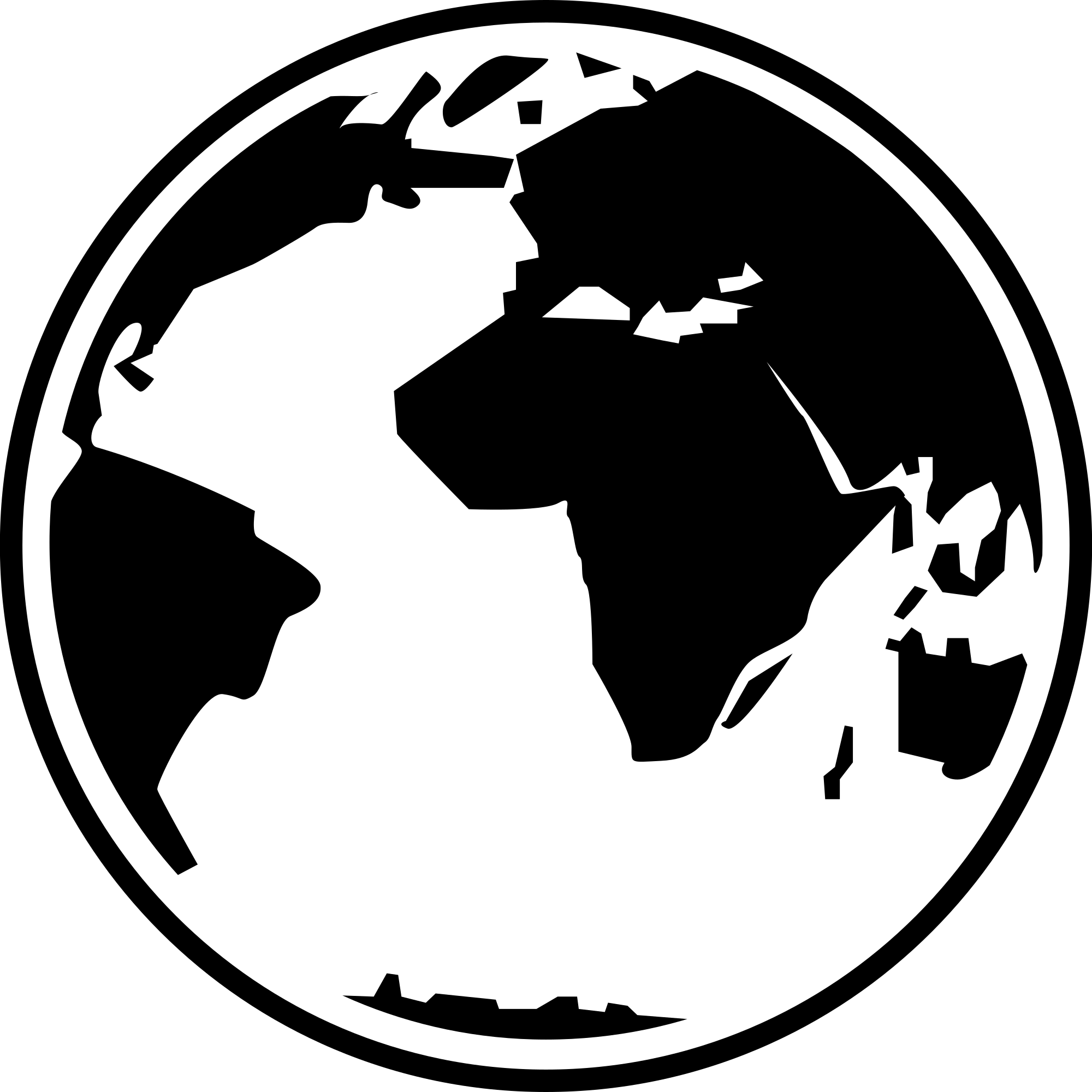 globe clipart symbol