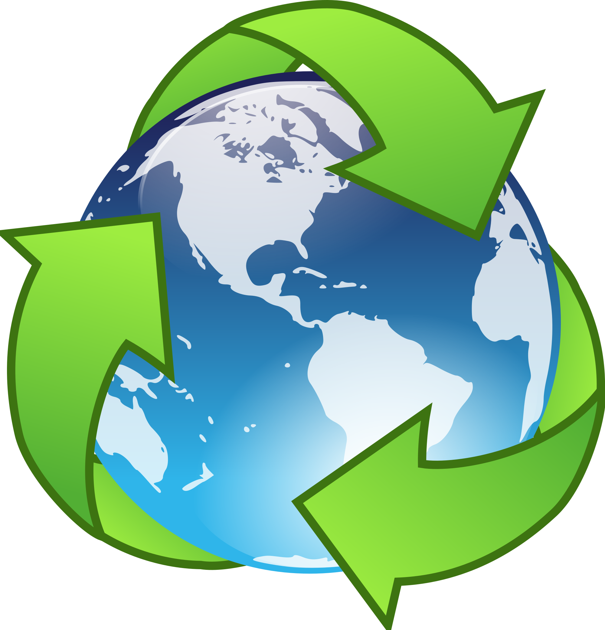 Planet clipart tierra. File earth recycle svg