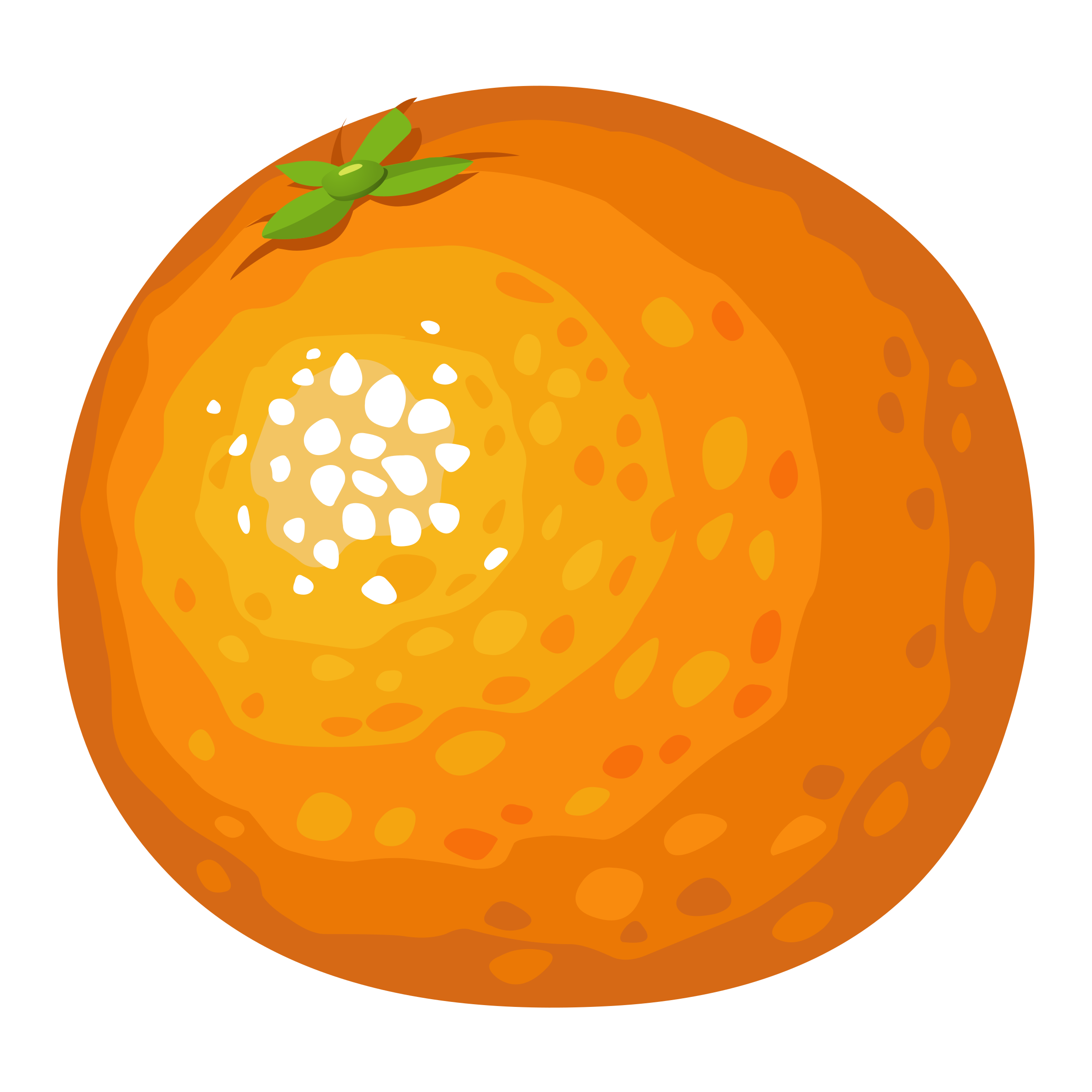 Orange big image png. Clipart food animated