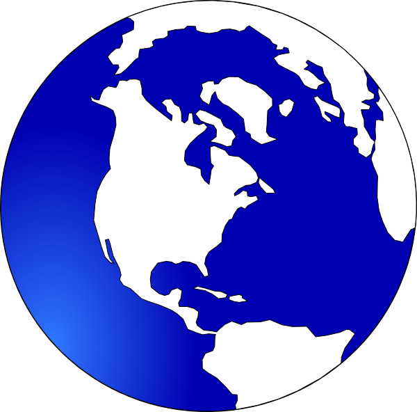 Missions clipart globe. Black and white outline