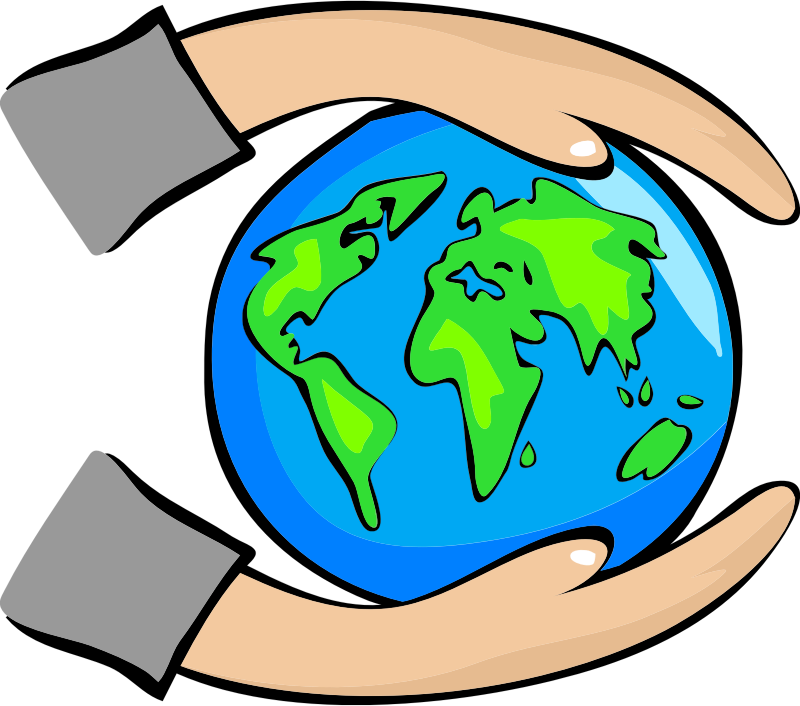 You can use this. Puzzle clipart earth