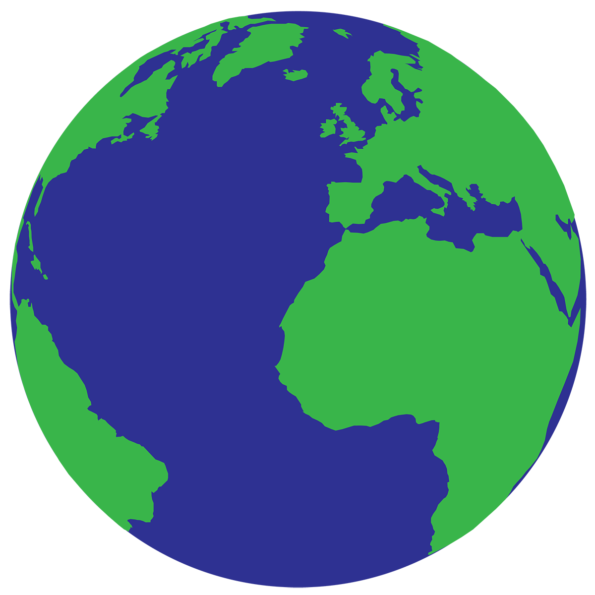 Add the image of. Globe clipart subject