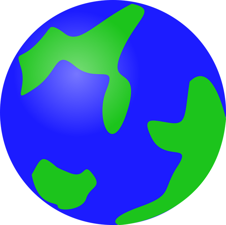 Earth world geography jokingart. Planets clipart cute