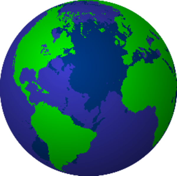 Clipart globe gambar. Free images at clker
