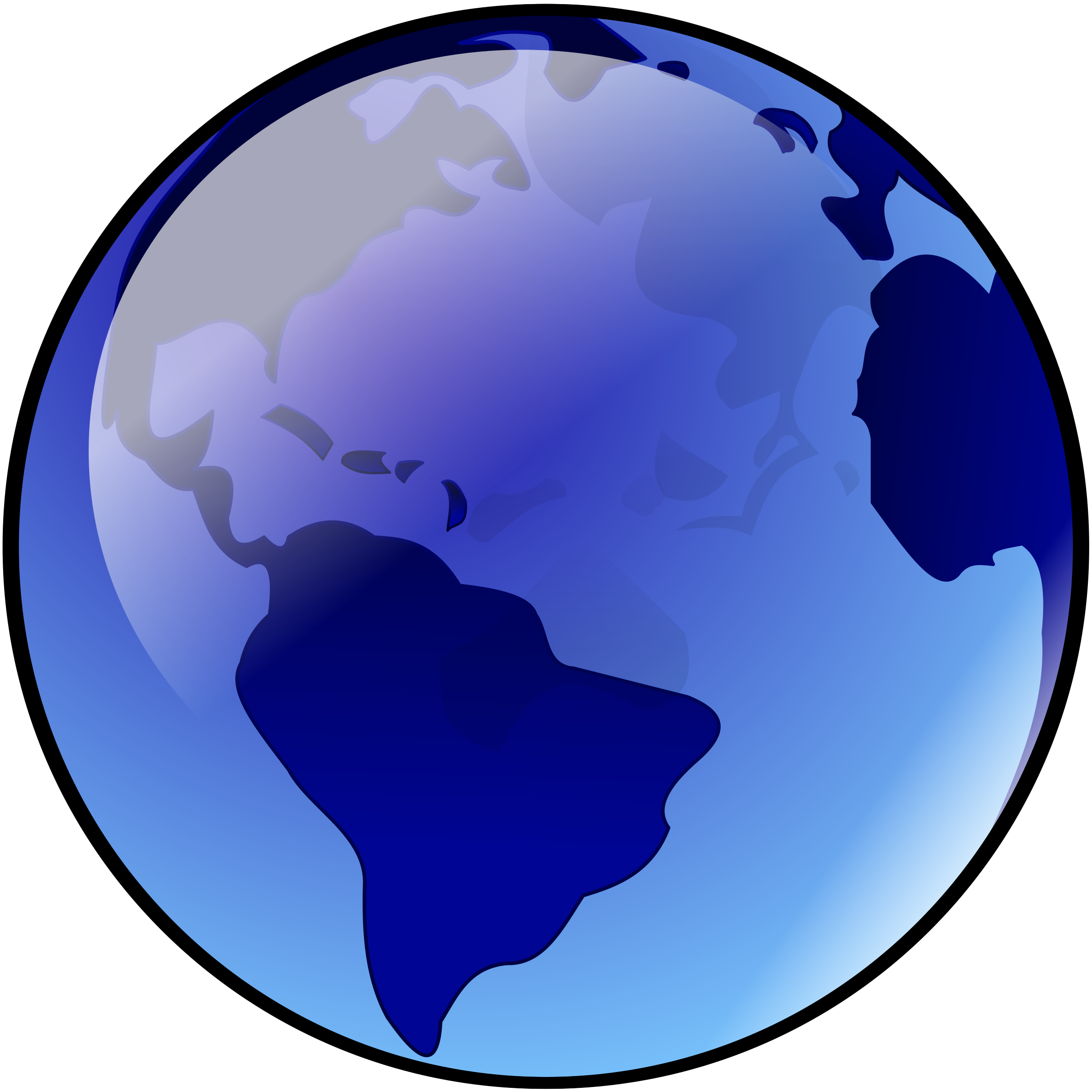 Clipart earth purple. Blue big image png