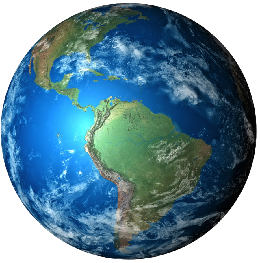 Clipart earth realistic. Planet water globe transparent