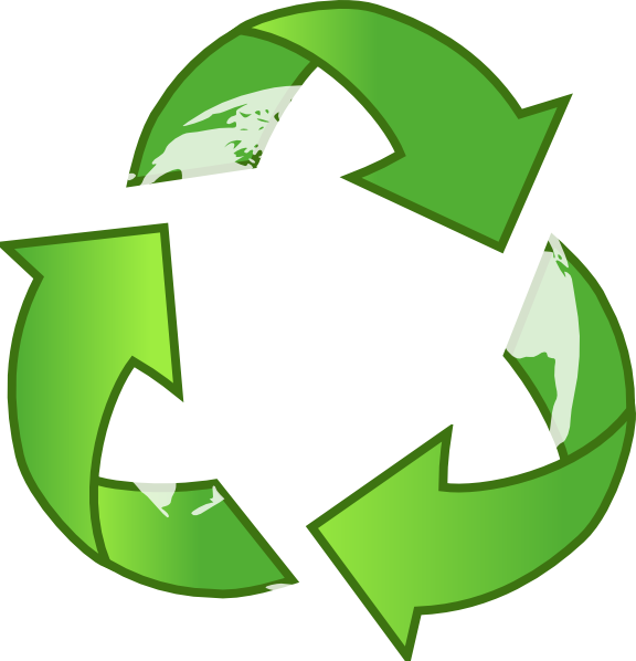 Clipart earth recycling. Recycle clip art at
