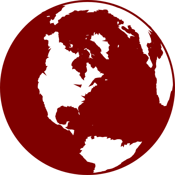 Globe clipart red. Earth clipground cliparts