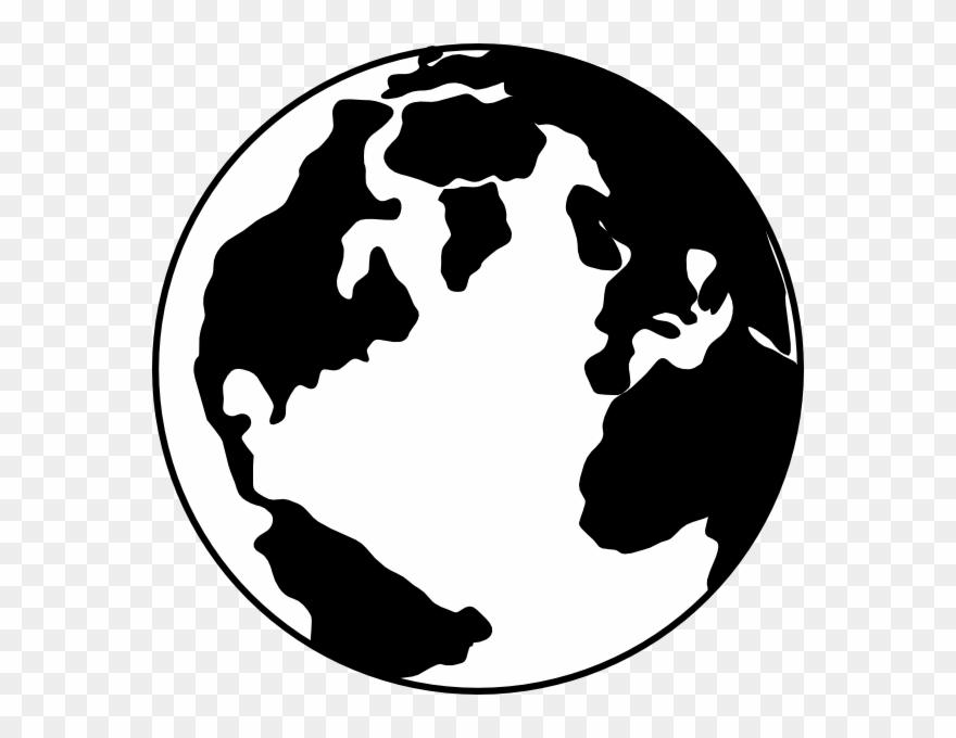 Globe clipart silhouette. Earth change you wish