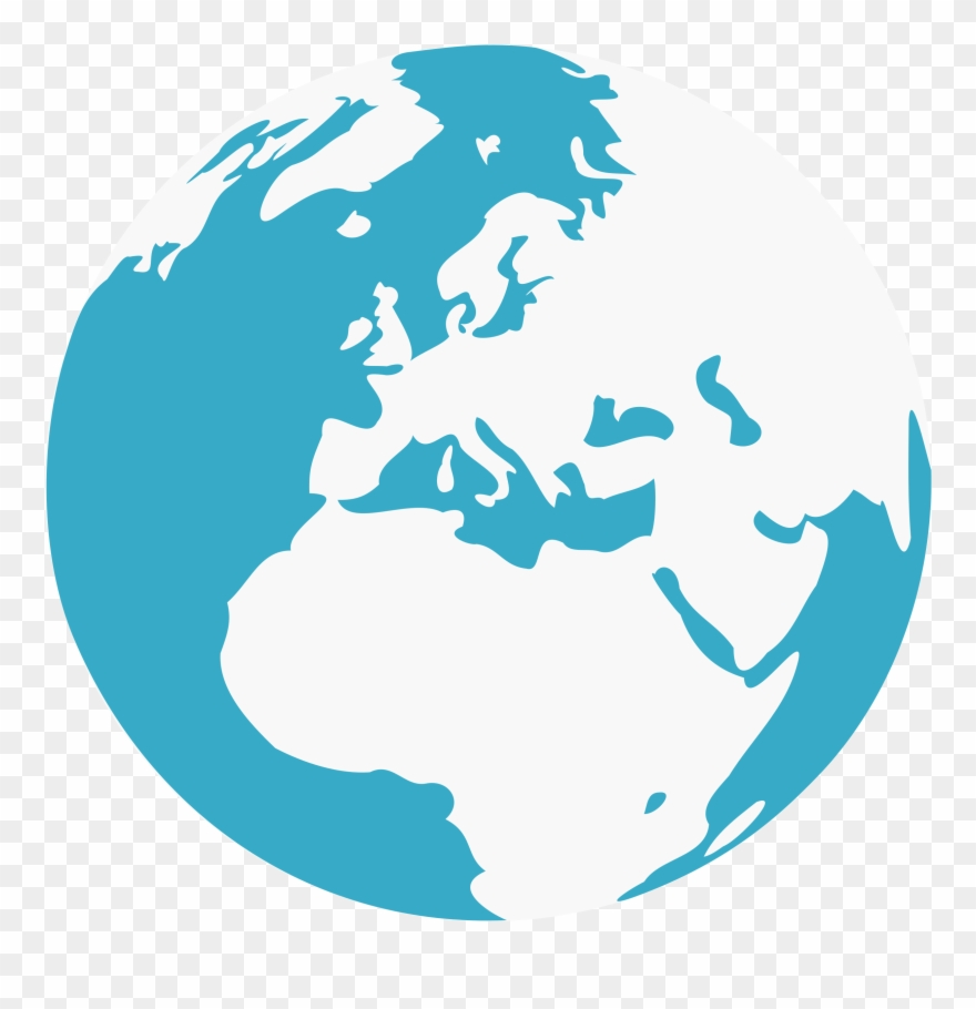 Clipart globe easy. Earth clip art png