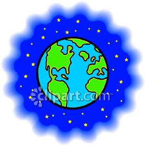 And station . Clipart earth space