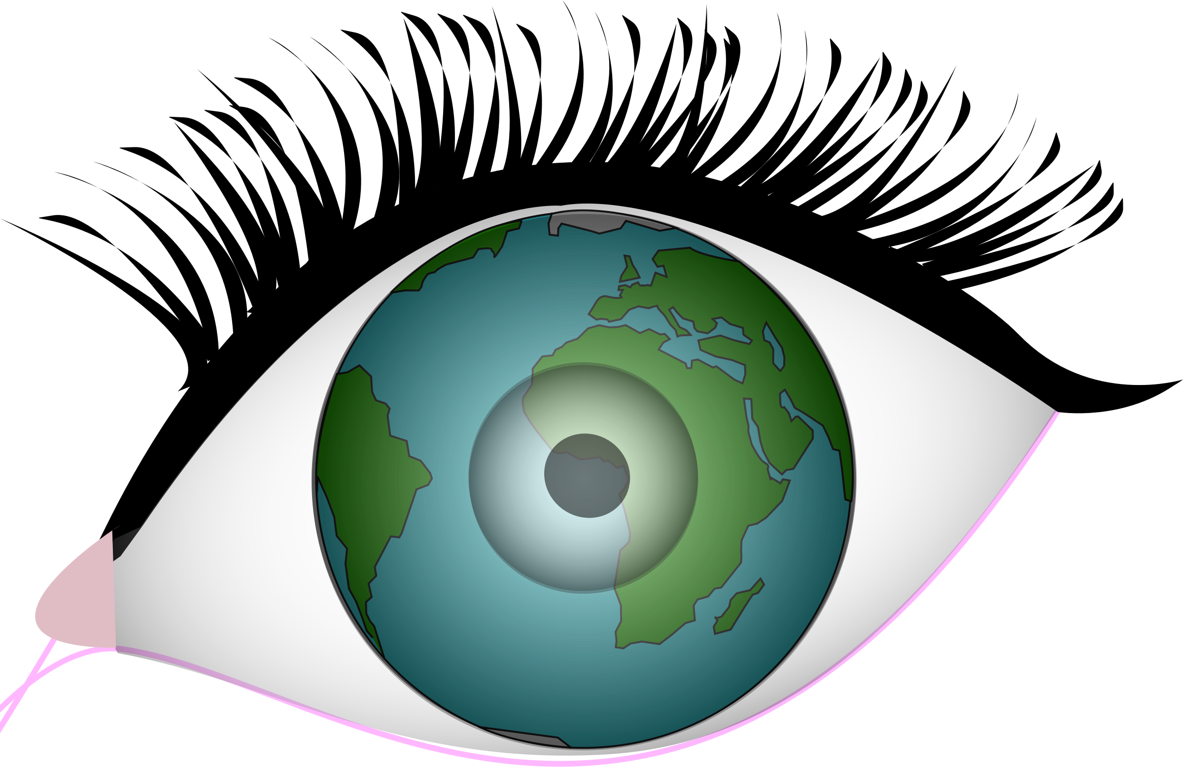 Clipart earth thinking.  collection of with