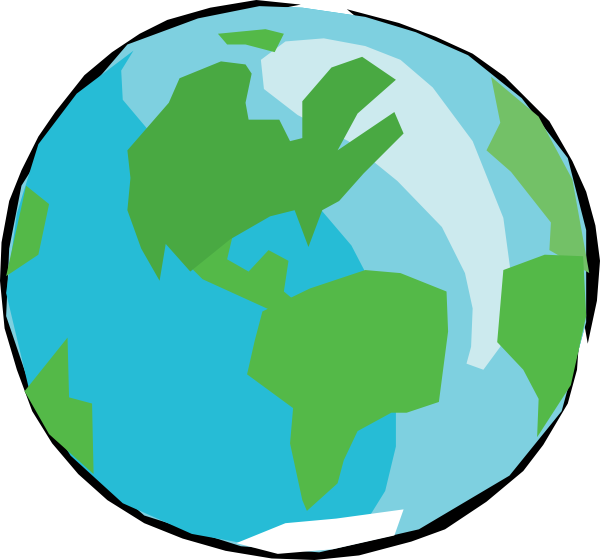 Planeten clipart bumi. Earth at getdrawings com