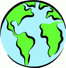 Image result for top. Clipart world earth half