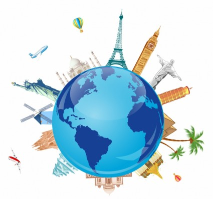 Free traveling cliparts download. Clipart earth travel